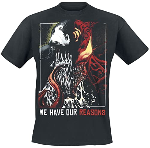 Venom (Marvel) Venom - Reasons Männer T-Shirt schwarz 3XL