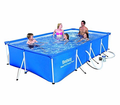 Bestway MWS 56424 Strukturierter Pool mit Motor 400 x 211 x 81 cm