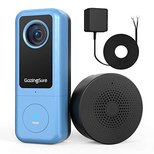 GazingSure Video Türklingel - 2K WLAN Security Türklingel mit...