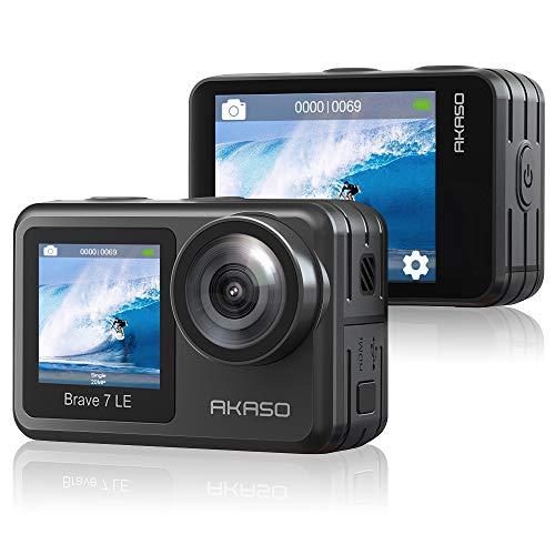 AKASO Action cam 4K /30fps /Action Kamera 20MP Unterwasserkamera...