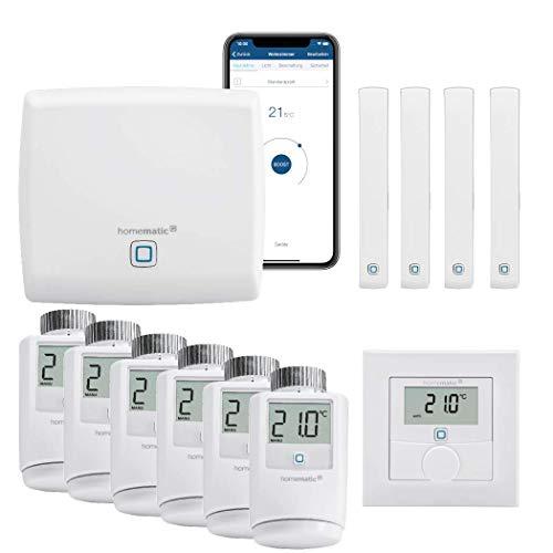 Homematic IP Funk Smart Home Heizungssteuerung Komplettpakete...