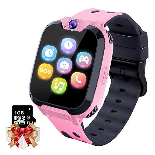 Smartwatch Kinder Telefon - Spiel Musik Kids Smart Watch [1 GB...