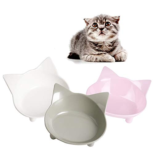 SKRTUAN Katzennäpfe, 3 Stück Futternapf Katze, Futternapf Katze...