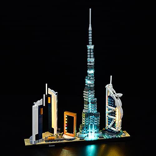 QXQY Led Licht Set für Lego 21052 Architecture Dubai...