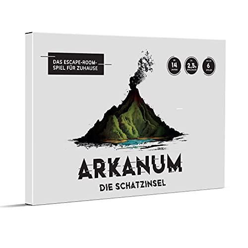 Arkanum die Schatzinsel – Escape Room Spiel für Erwachsene,...