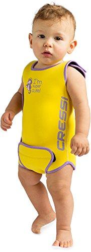 Cressi Infant Baby Warmer - Kinder Neopren Schwimmanzug, Gelb,...