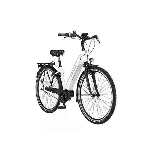 FISCHER E-Bike City CITA 3.1i, Elektrofahrrad, weiß matt, 28...