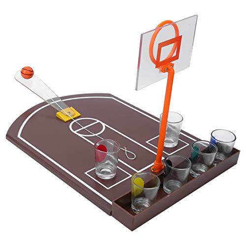 Trinkspiel Spielzeug, Basketball Trinkspiel tragbar und einfach...