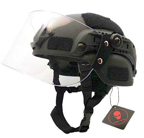 Airsoft Tactical MICH 2000 Military Paintball SWAT Polizei Helm...