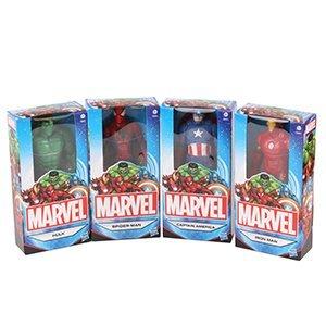 Marvel Set von 4 6 Zoll (15 Zentimeter) Figuren; Spider-Man, Iron...