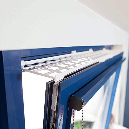 Trixie Schutzgitter für Fenster, oben/unten, ausziehbar, 75-125...