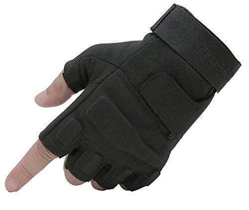 Seibertron® Damen Herren S.O.L.A.G Handschuhe taktisch 1/2...