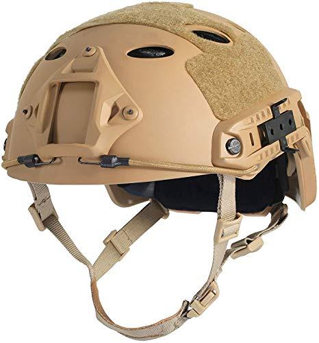 LOOGU Airsoft Helm Ops Core Schutzhelm Taktischer Helm (Typ Fast...