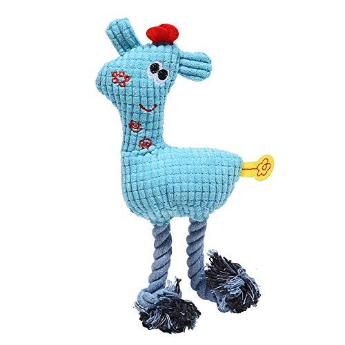 HHuin Lustiges, süßes Plüschspielzeug für Haustiere, Welpen,...