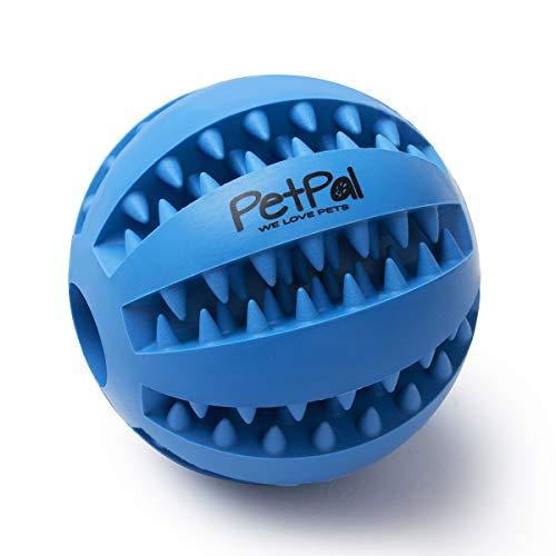 PetPäl Hundeball mit Zahnpflege-Funktion Noppen Hundespielzeug...