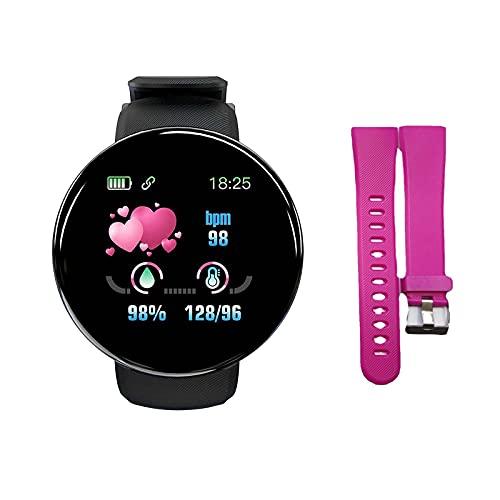 Funyplus Smartwatch Damen,Smartwatch Herren,D18S 1.44in Smart...