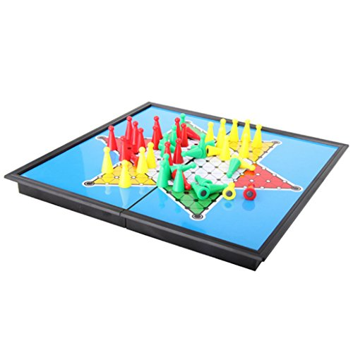F Fityle Klassisches Hexagon Chinese Checkers Brettspiel Student...