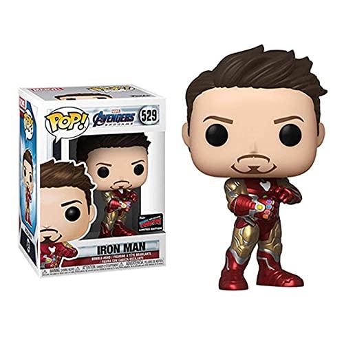 Marvel Movie Series Vinyl Figur #529 Iron Man Mit Nano Gauntlet...