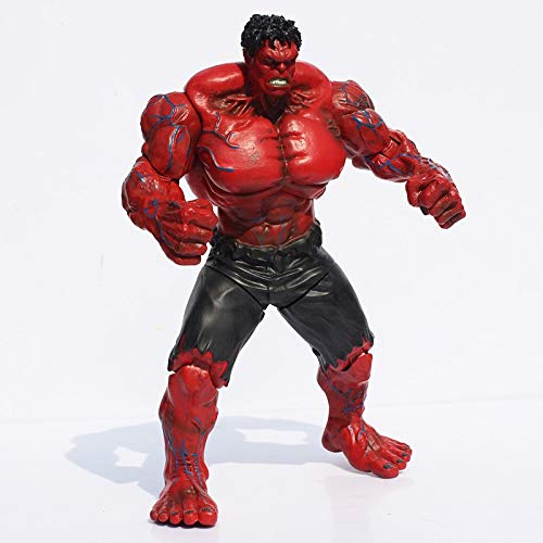 Cylficl. Super Heros, The Red Hulk Actionfigur, 26 cm
