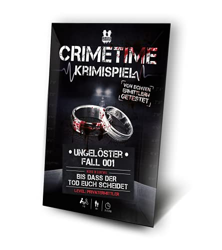 CRIMETIME Krimispiel - Fall 001 - Bis DASS der Tod euch scheidet...