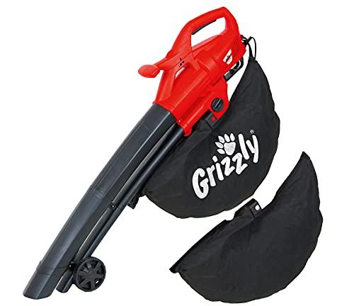 Grizzly Tools 3in1 Elektro 3in1 Laubsauger/Laubbläser/Häcksler...