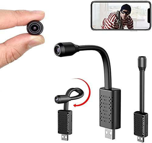 Smallest WiFi Spy Hidden Camera, Mini USB Hidden Camera,...