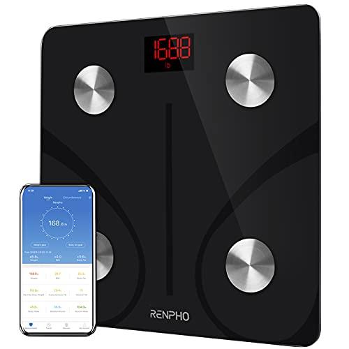 RENPHO Körperfettwaage Digital Personenwaagen Bluetooth...