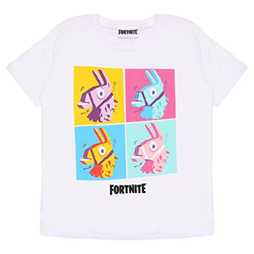 Fortnite Lama Pop Art Jungen T-Shirt, Offizielles Lizenzprodukt,...
