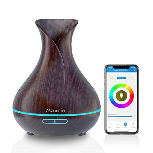 Maxcio Alexa Aroma Diffuser, Ätherische Öl Smart Ultraschall...