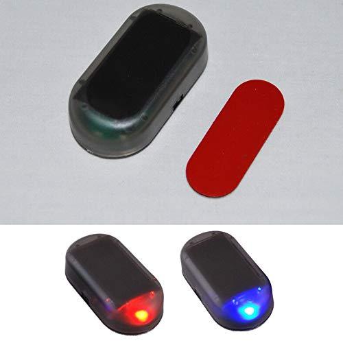 Fyeep USB + SOLAR Auto Alarmanlage Dummy Imitation...