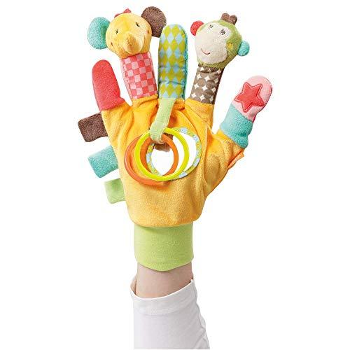 Fehn 074604 Spielhandschuh Safari – Fingerpuppen-Handschuh Affe...