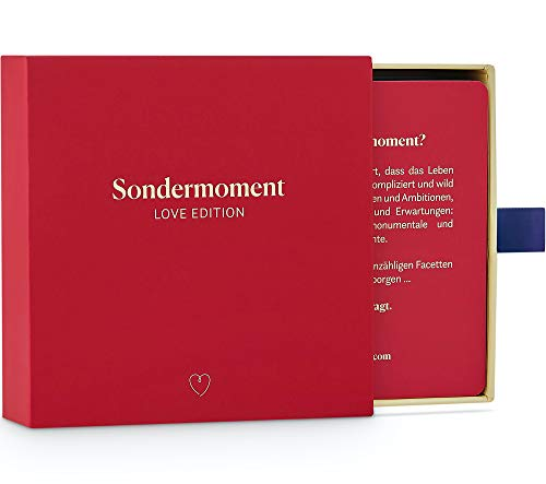 Sondermoment Love Edition - Fragespiel für Paare und Verliebte |...