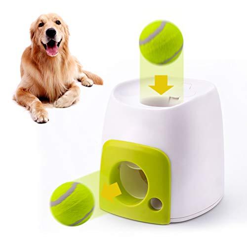 CJMING Automatischer Ballwerfer, Hund Ball Werfer, Lebensmittel...