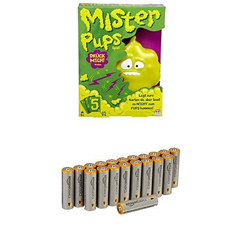 Mattel Games DPX25 Mister Pups, Kinderspiel geeignet für 2 - 6...