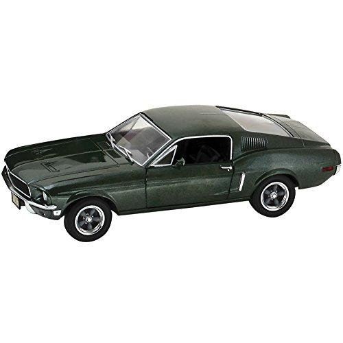 Ford Mustang GT, met.-grün, aus dem Film Bullitt, 1968, Modellauto, Fertigmodell, Greenlight...