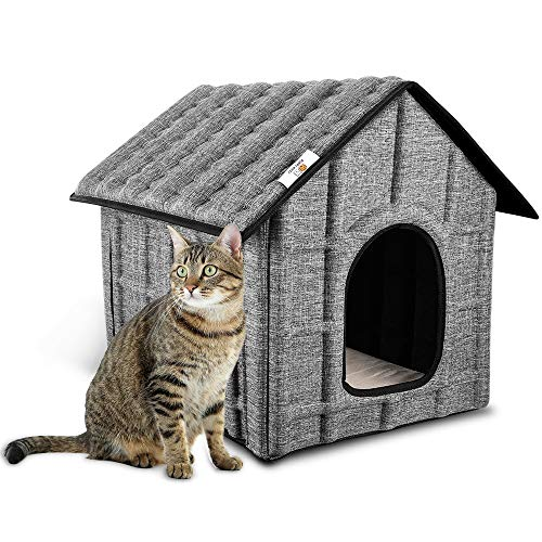 PUPPY KITTY Katzenhaus Katzenhöhle für Katzen Winterfest...