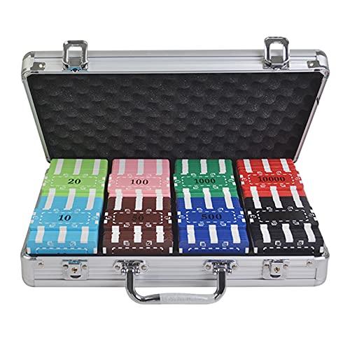 YYHJ 200 Stück Poker Chips Set,Pokerkoffer Pokerchips,Pokerset...