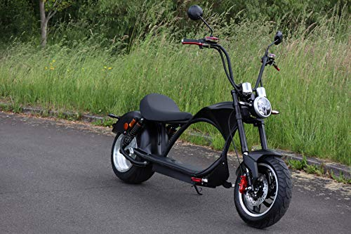 ES-TOYS Elektro Scooter Coco Bike E-Chopper mit Straßenzulassung...