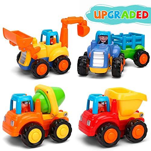 GoStock Baby Spielzeugauto Spielsachen Baufahrzeuge für Kinder...