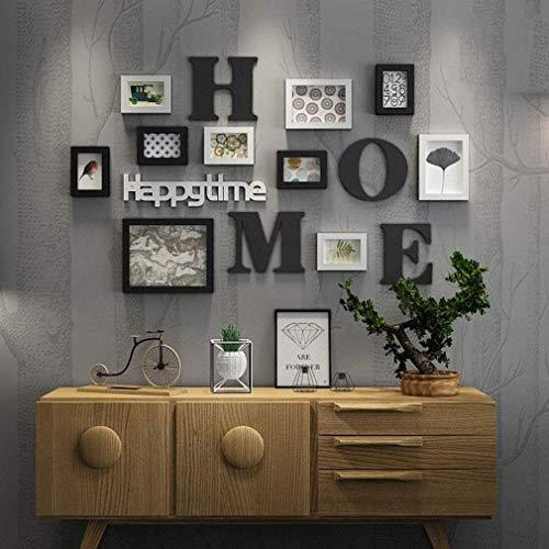 HAOQI Creative Fotorahmen Collage, 10 Stück Kombination...