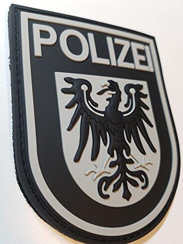 ATG Ärmelabzeichen Polizei Brandenburg 3 D Rubber Patch...
