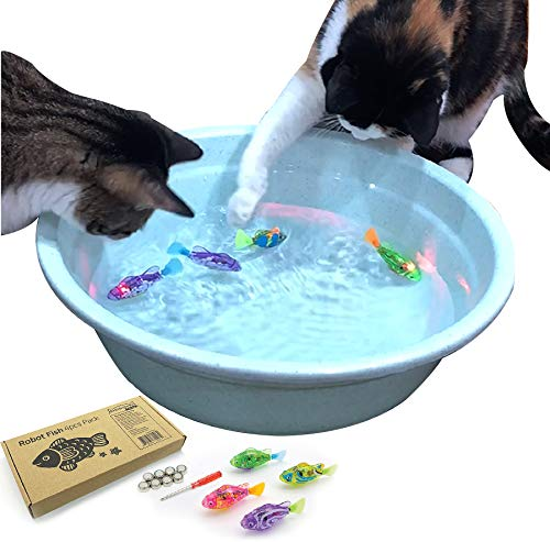 BlackHole Litter Mat ® - interaktives Spielzeug mit LED-Licht (4...