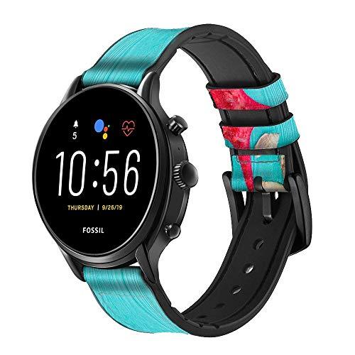 Innovedesire Aqua Wood Starfish Shell Smart Watch Armband aus...
