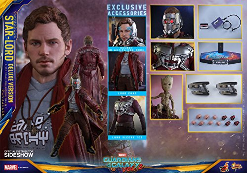 Hot Toys Guardians of the Galaxy Vol 2 Series Star Lord Deluxe...