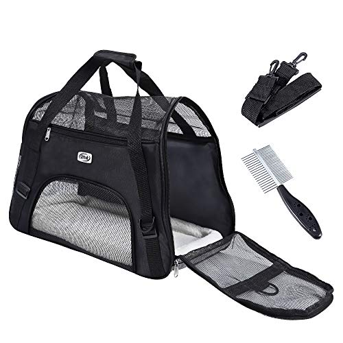 QHYK Faltbare Hundetragetasche Katzentragetasche, Haustiere...