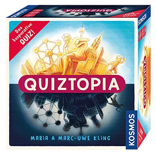Kosmos 694296 - Quiztopia- Gemeinsam gegen das Spiel, das...