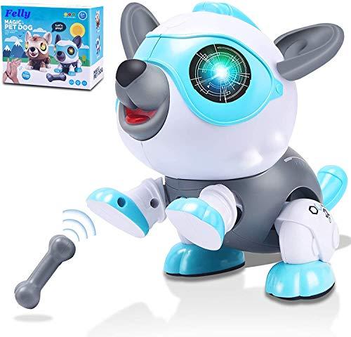 Felly Roboter Hund für Kinder, Intelligentes Roboter...