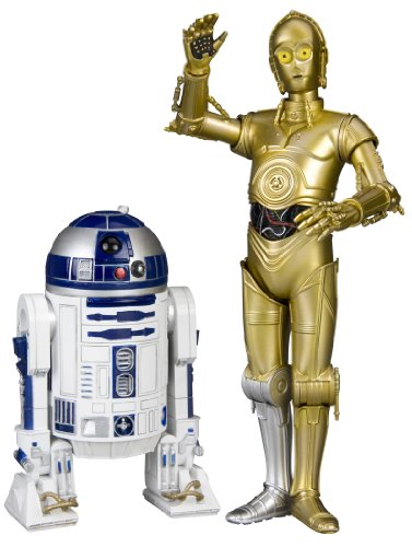 Kotobukiya 1:10 'C3-PO und R2-D2 Artfx Plus Figur (2 Stück,...