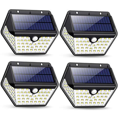 Solarlampen für Außen mit Bewegungsmelder,【2019 Neuestes...