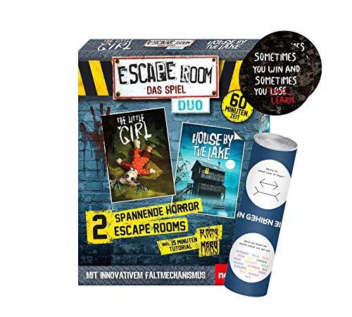 Escape Room Das Spiel Duo-Set: Gesellschaftsspiel ab 16 Jahren +...
